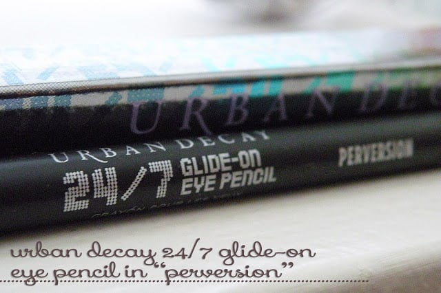 THE LBL {Little Black Liner} | Urban Decay's 24/7 Eye Pencil in Perversion