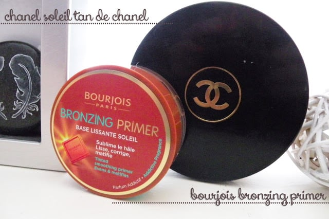 Chanel Soleil Tan de Chanel vs Bourjois Bronzing Primer