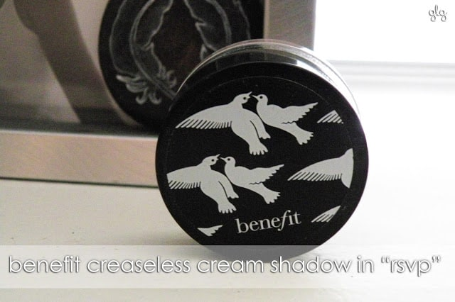 Benefit Creaseless Cream RSVP http://www.girllovesgloss.com