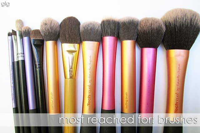 MOST REACHED FOR : MAKEUP BRUSHES