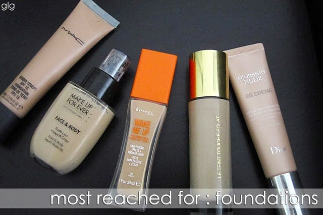 MAC Makeup Forever Rimmel YSL Dior Foundation BB Cream