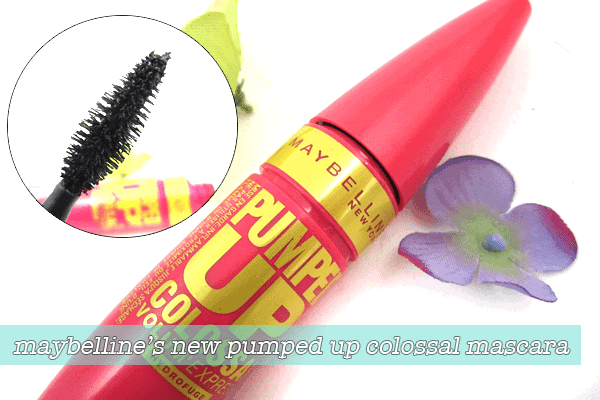 MASCARA MONDAY   Maybelline Pumped Up Colossal Volume Express