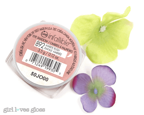 MONTHLY MUST BUY | L'Oreal Infallible Shadow in Amber Rush