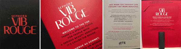 Sephora VIB Rouge Status