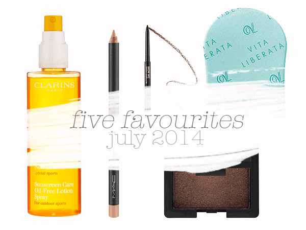 FAVOURITES | 5 Favourite Beauty Products for July 2014
