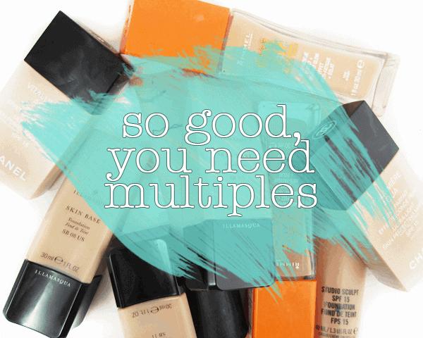 SO GOOD YOU NEED MULTIPLES | Foundations That Are Worth Having in Multiple Shades