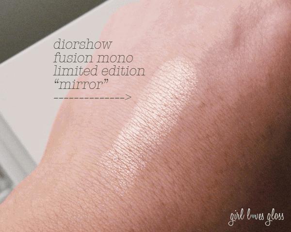 Dior Diorshow Fusion Mono Mirror Limited Edition Holiday 2014 GirlLovesGloss.com