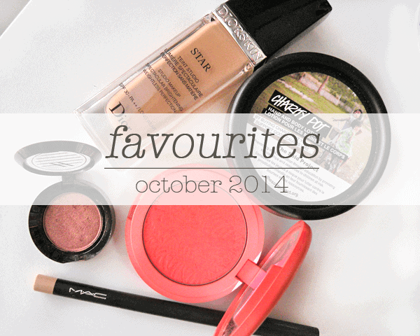 october 2014 beauty favourites girllovesgloss.com dior tarte lush ardency inn mac
