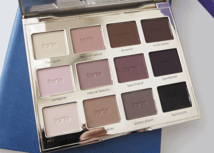 Girl Loves Gloss Makeup and Beauty Blog Tarte Tartelette Palette Matte Eyeshadow