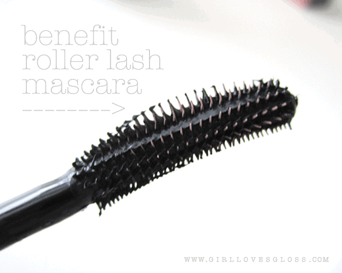 benefit roller lash mascara review on girllovesgloss.com