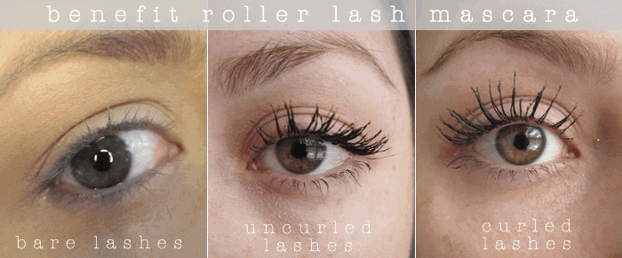 Benefit Roller lash Mascara before and after review girllovesgloss.com