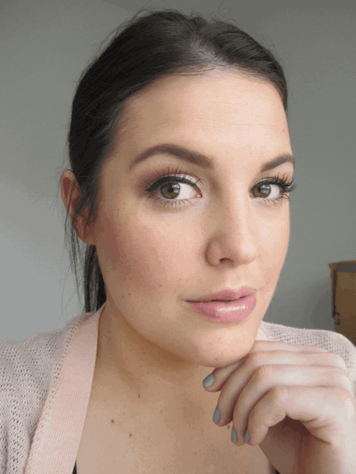 Everyday makeup on girllovesgloss.com mac smashbox nars tarte loreal clarins make up for ever real techniques