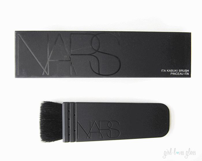 Nars Ita Brush Review girllovesgloss.com Nars Contour Brush