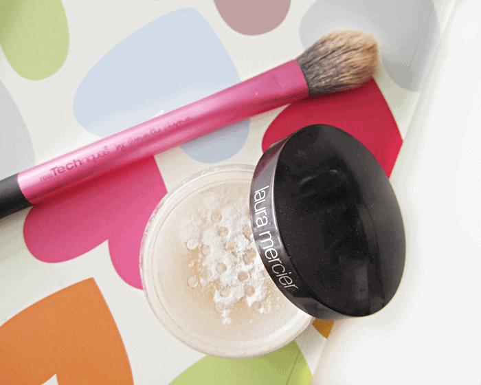 laura mercier secret brightening powder real techniques setting brush