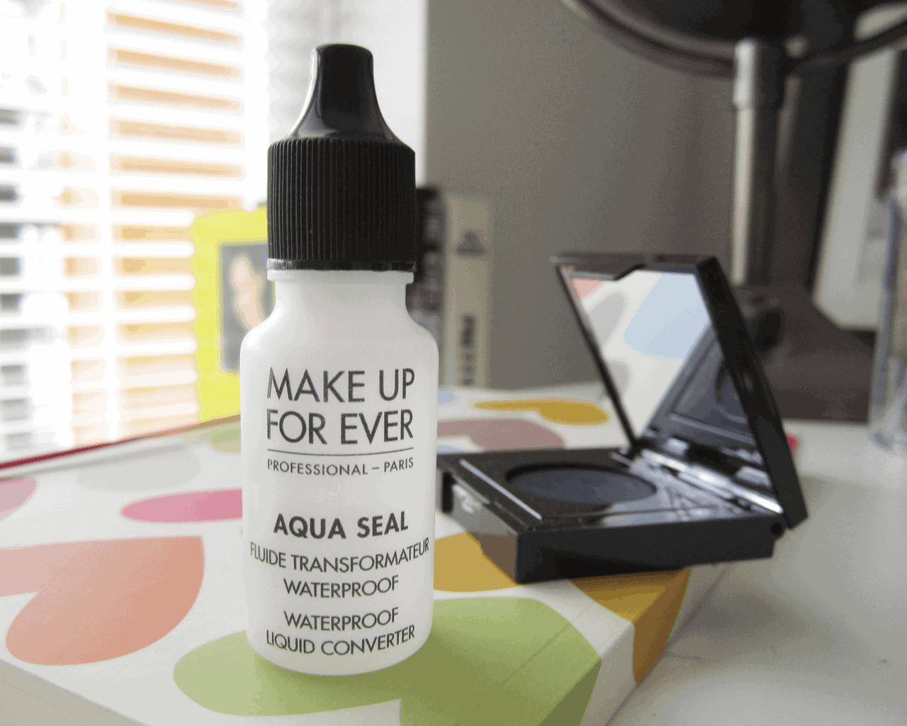 Sunday Splurge | Make Up For Ever Aqua Seal