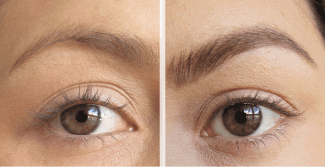 Benefit Gimme Brow Product Review Eyebrow before and after