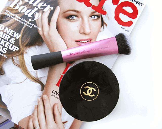 techniques sculpting brush, chanel soleil tan de chanel, allure magazine april 2015