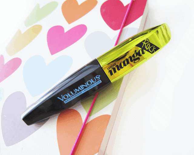 l'oreal voluminous miss manga rock waterproof mascara review