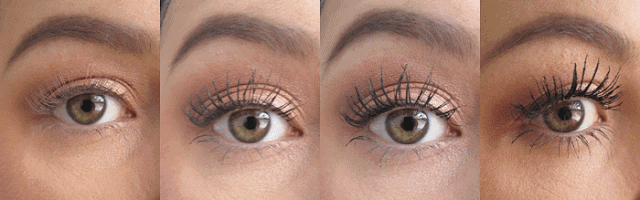 c614e2987a1 l'oreal voluminous miss manga rock waterproof mascara review before and  after