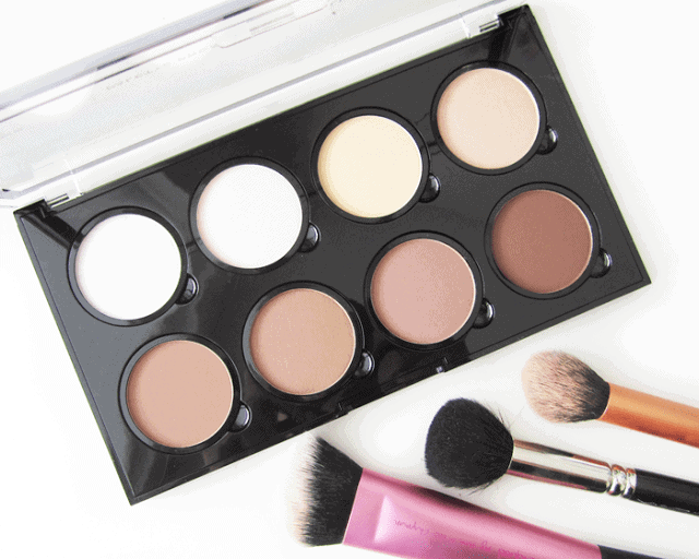 NYX Highlight and contour pro palette review and swatch