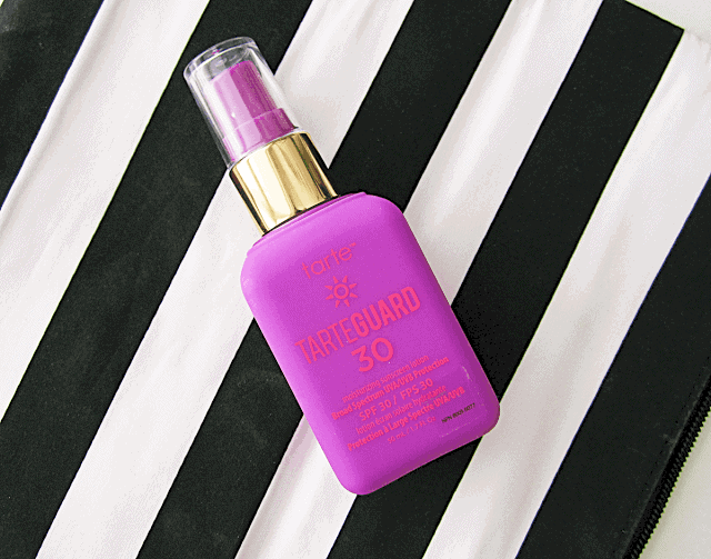 tarte tarteguard 30 spf sunscreen review