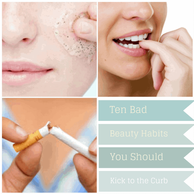 10 bad beauty habits you should kick to the curb part 2