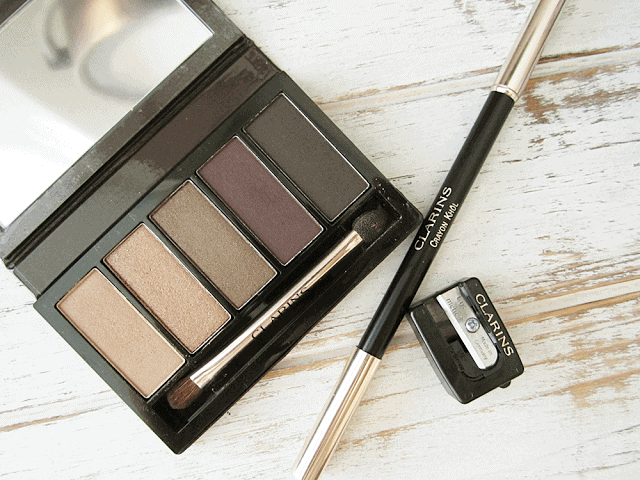 Clarins Fall 2015 Pretty Night Palette and Crayon Kohl in Carbon GIVEAWAY