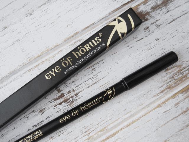 Eye of Horus Smokey Black Goddess Pencil Review and Swatch