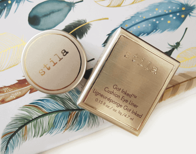 Stila Got Inked Cushion Eye Liner Copper Ink Review and Swatch