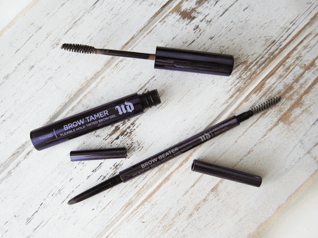 new Urban Decay Brow Tamer and Brow Beater