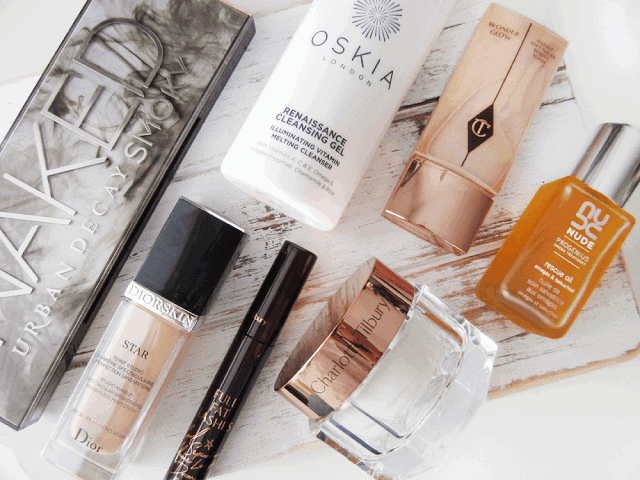 August 2015 Beauty Favourites Charlotte Tilbury, Urban Decay, NUDE, Dior, Oskia