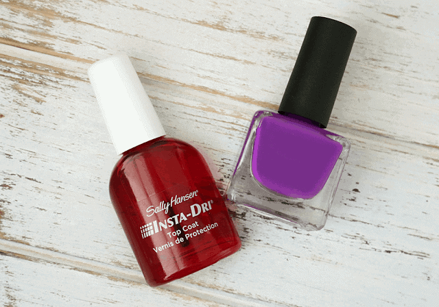 Sally Hansen Insta-Dri Top Coat Review