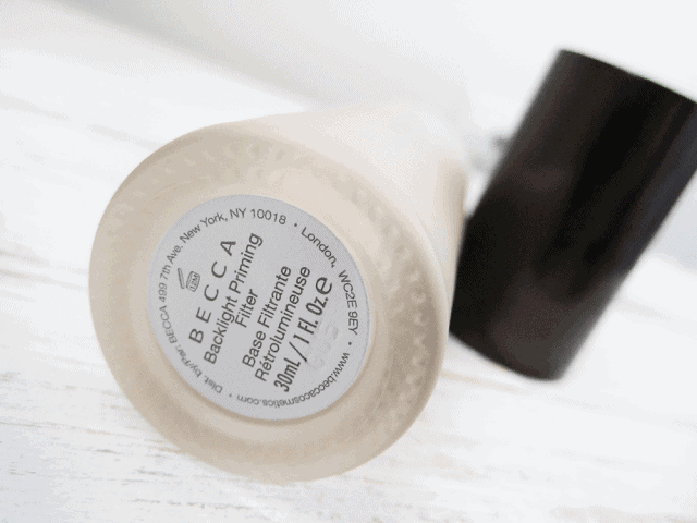 Becca Backlight Priming Filter Review and Swatch
