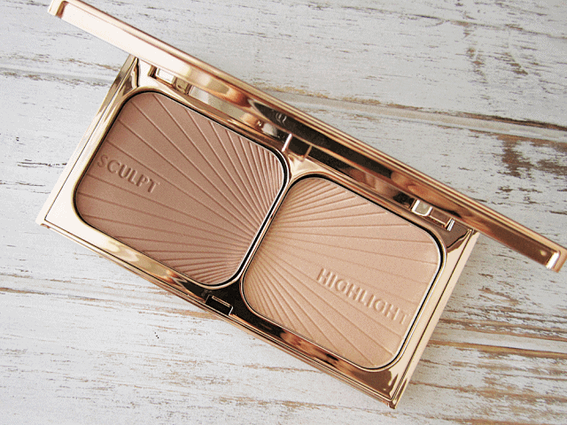 Scultpting Simplified with Charlotte Tilbury's Filmstar Bronze and Glow and Powder & Sculpt Brush