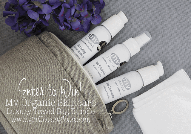 MV Organic Skincare review and giveaway