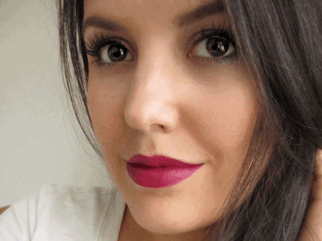 Urban Decay Matte Revolution Lipstick in After Dark Review