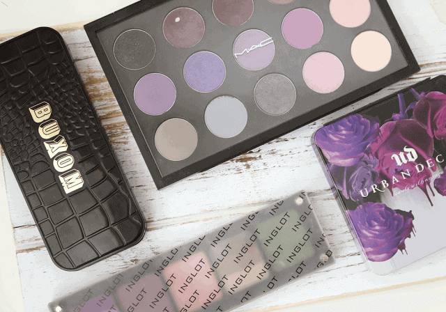 MAC, Urban Decay, Inglot, Buxom Customizable Eyeshadow Palette Review