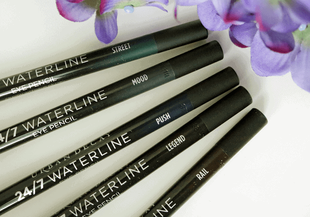 Urban Decay 24/7 Waterline Eye Pencil Review and Swatch