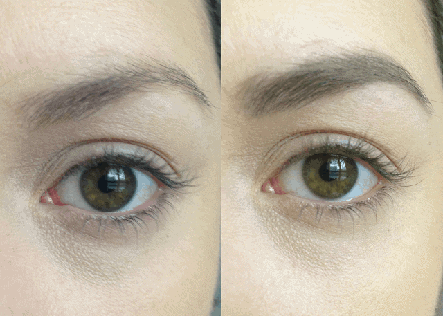 L'Oreal Brow Stylist Definer in Dark Brunette Review and Swatch Comparison to Anastasia Beverly Hills Brow Wiz