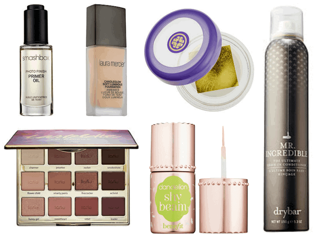 New Beauty for 2016 - laura mercier, smashbox, tarte, tatcha, benefit, drybar