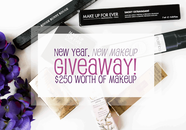 New Year, New Makeup | $250 GIVEAWAY!
