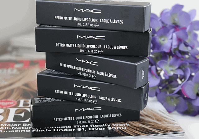 MAC Retro Matte Liquid Lipcolour Review and Swatch