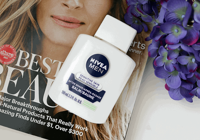 Nivea Men Sensitive Skin After Shave Balm as a Primer Review