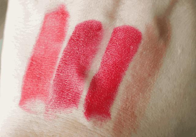 Urban Decay Gwen Stefani Lipsticks in 714, Ex-Girlfriend, Spiderweb, Rock Steady