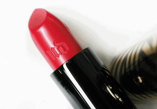 Urban Decay Gwen Stefani Lipsticks in 714, Ex-Girlfriend, Spiderweb, Rock Steady