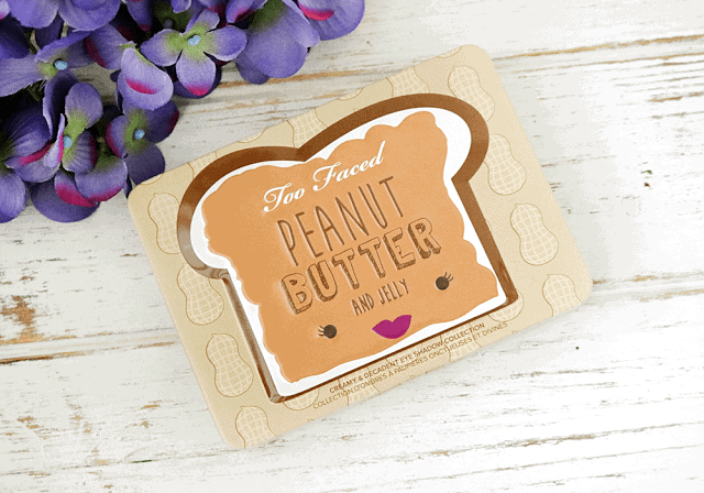 Too Faced Peanut Butter and Jelly Palette Swatches and Review