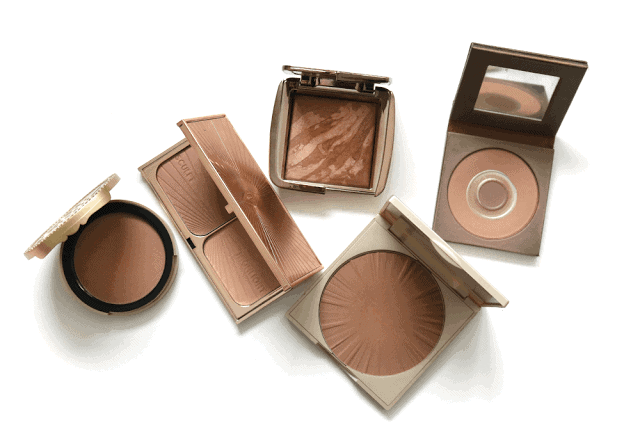 Five Favourite Bronzers: Hourglass, Too Faced, Tarte, Stila, Charlotte Tilbury