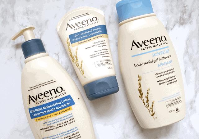 Battling Sensitive Skin with Aveeno Skin Relief • Girl Loves Gloss