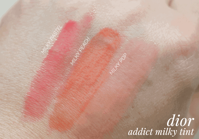 Dior Addict Milky Tints Summer 2016 Review and Swatch