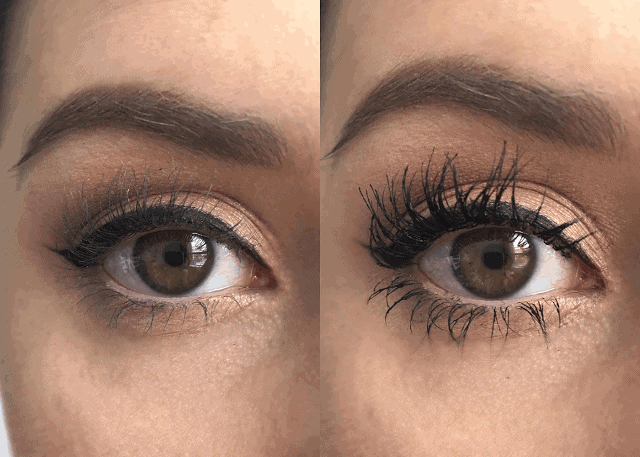 L'Oreal Voluminous Butterfly Sculpt Waterproof Mascara Review with Before and Afte
